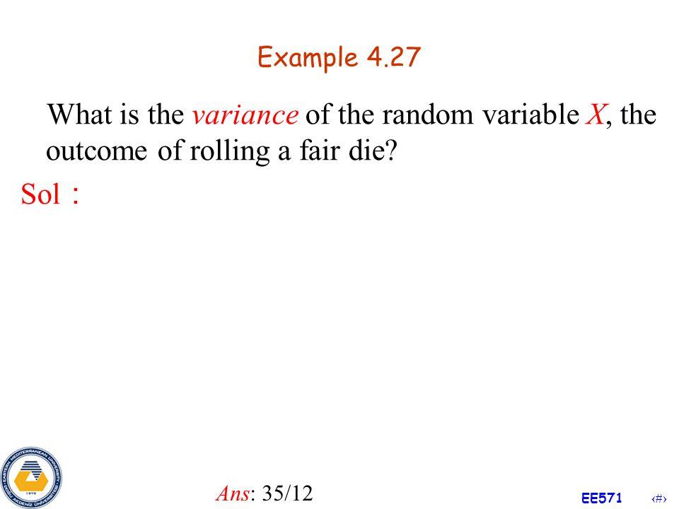 45 EE571 Theorem 4.3 Pf :