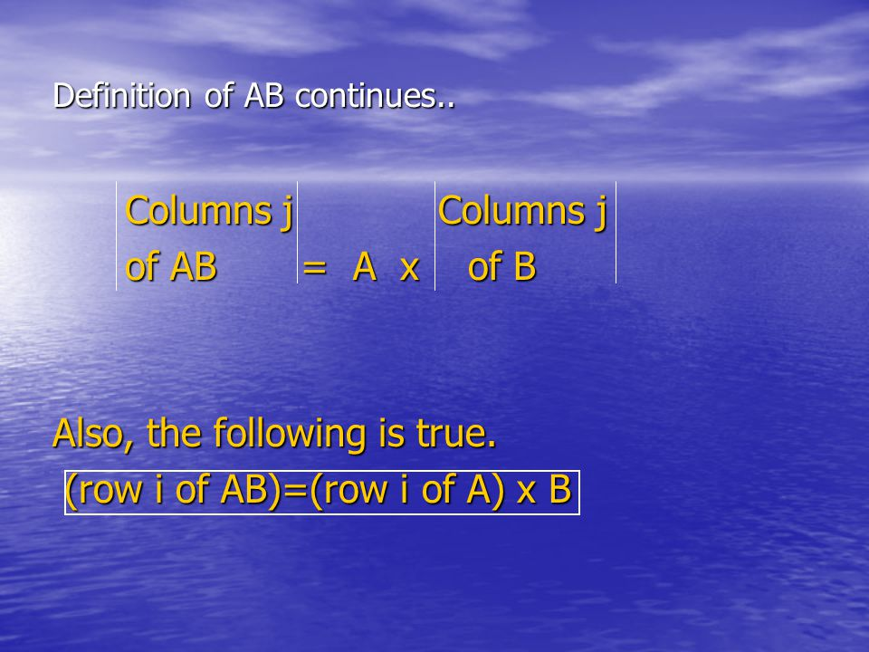 Q.Can I add Partitioned Matrices to each other. A.