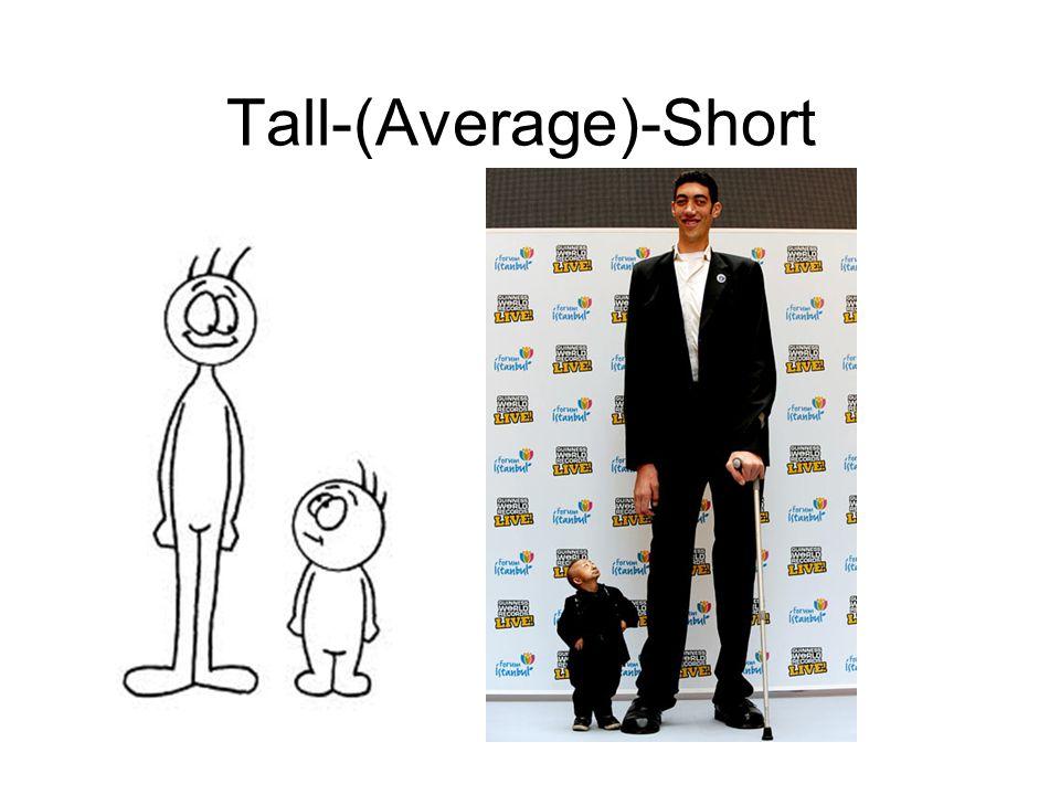 Tall-(Average)-Short