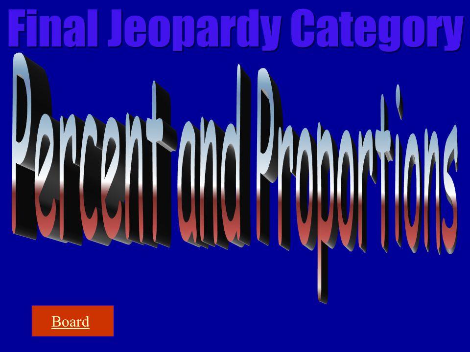 Final Jeopardy Category Board