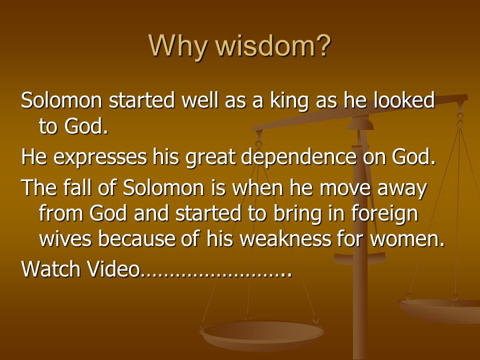 How can we draw wisdom from God.Ask.