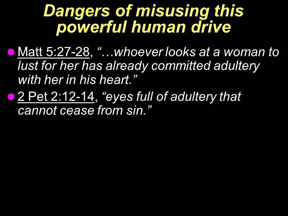 Where is the line? THIGHS  Ex 28:42-43, from the waist to the thighs  Ex 20:26, implied…no steps to the altar  Isa 47:1-3, Babylon's shame, uncover the thigh… nakedness shall be uncovered… shame will be seen