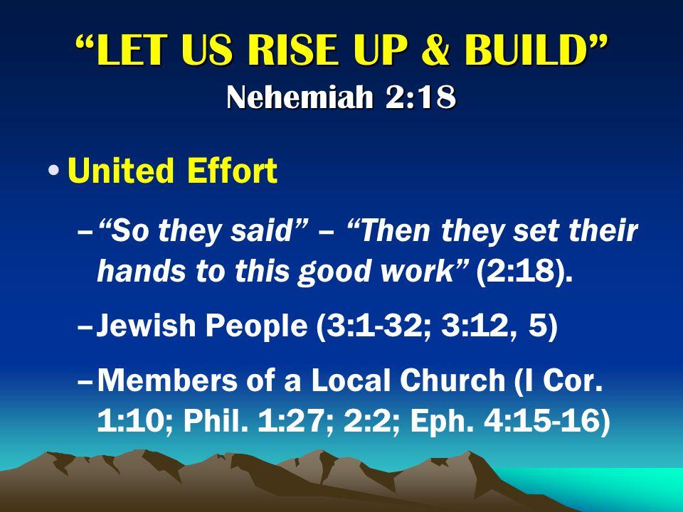 Overcame Ridicule/Discouragement –R–Ridicule (2:19; 4:1-3; 6:9) –D–Discouragement (4:10) –2–2 Timothy 3:12; I Peter 4:14-16; Luke 6:22-23; I Corinthians 15:58