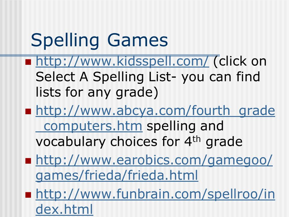 Word Games (Vocabulary) www.freerice.com you can practice vocabulary and help others.