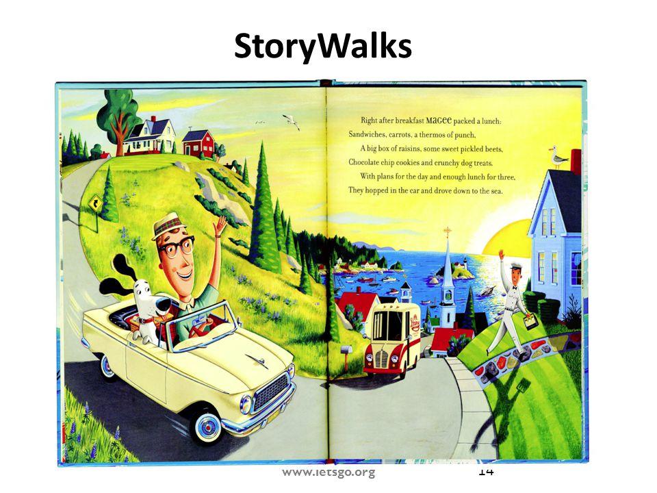 www.letsgo.org 14 StoryWalks