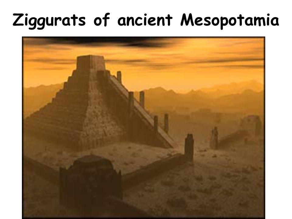 Ziggurats of ancient Mesopotamia