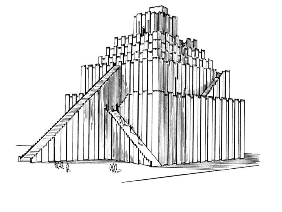 Great Ziggurat at UR Zigurrat remains in Ur from time of Abraham, ca.