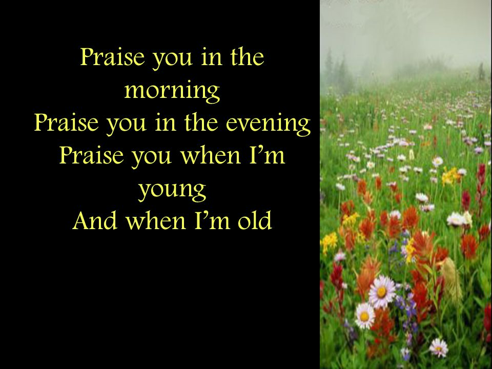 Praise you when I'm laughing Praise you when I'm grieving Praise you every season of the soul