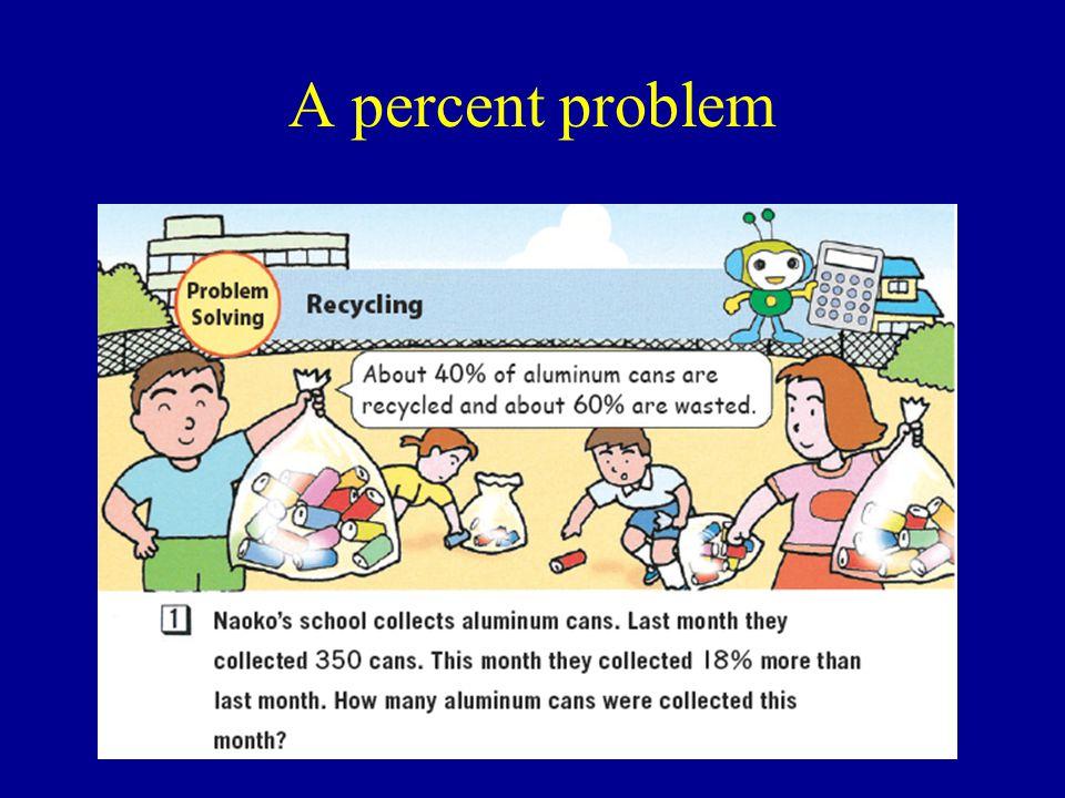 A percent problem