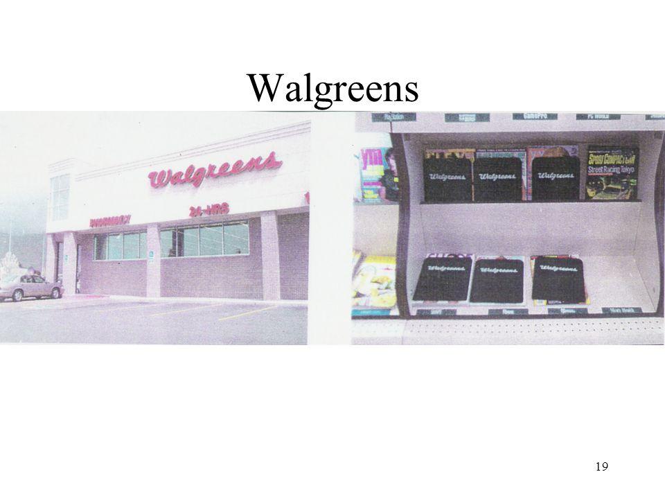 19 Walgreens