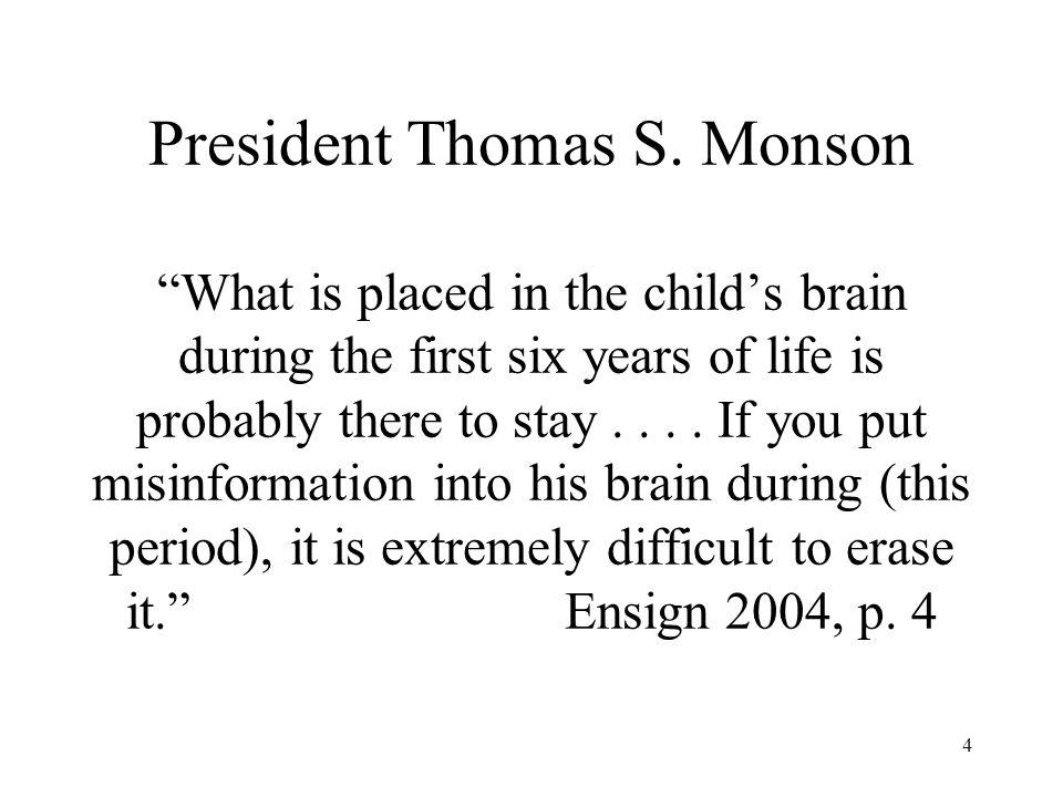 4 President Thomas S.