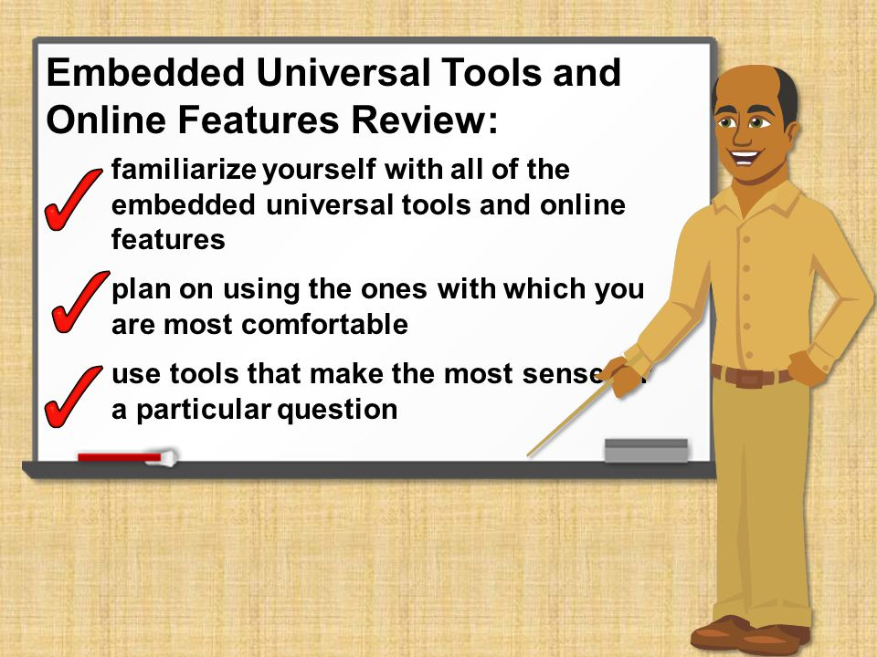 Embedded Universal Tools and Online Features Review