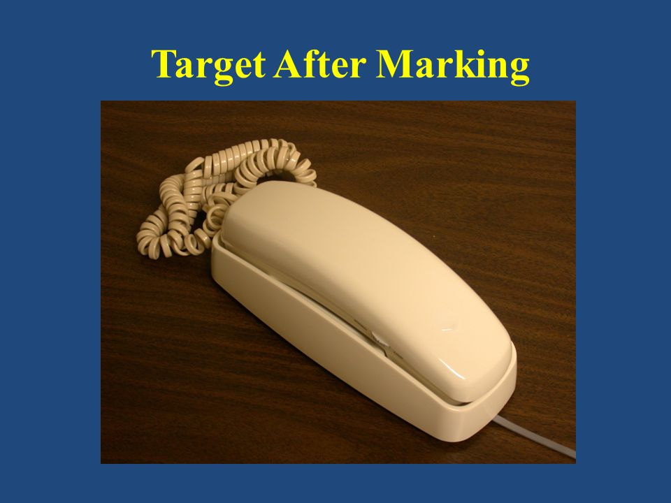 Target After Marking