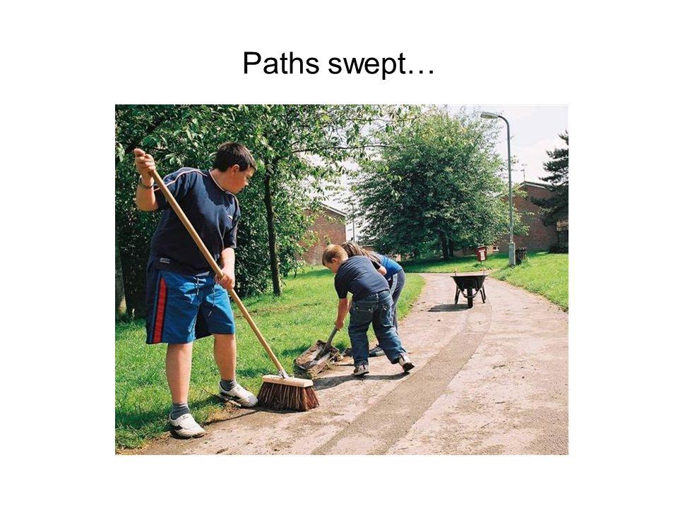 Paths swept…