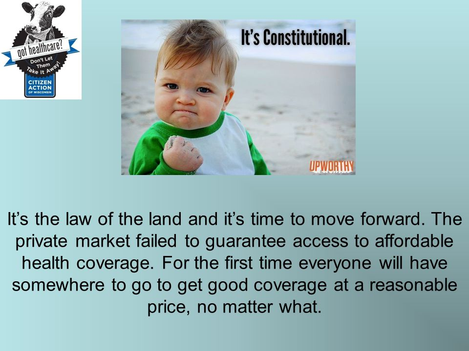 The Affordable Care Act is Worth Protecting Insurance companies must now play fairly.