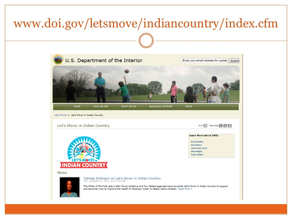 www.doi.gov/letsmove/indiancountry/index.cfm