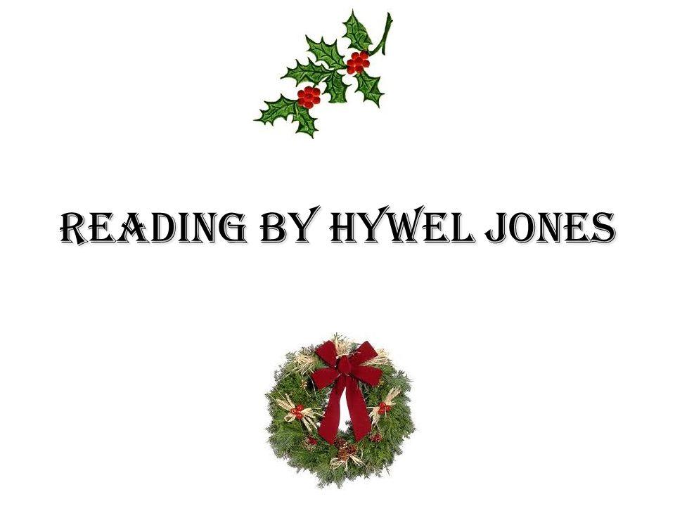 Reading by Hywel Jones