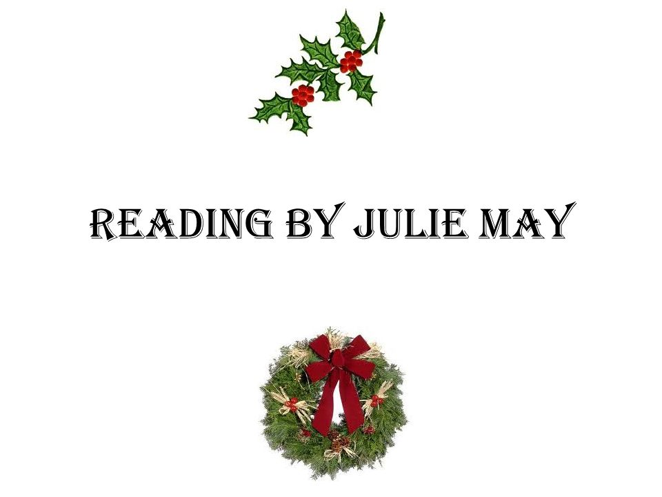 Reading by Julie May