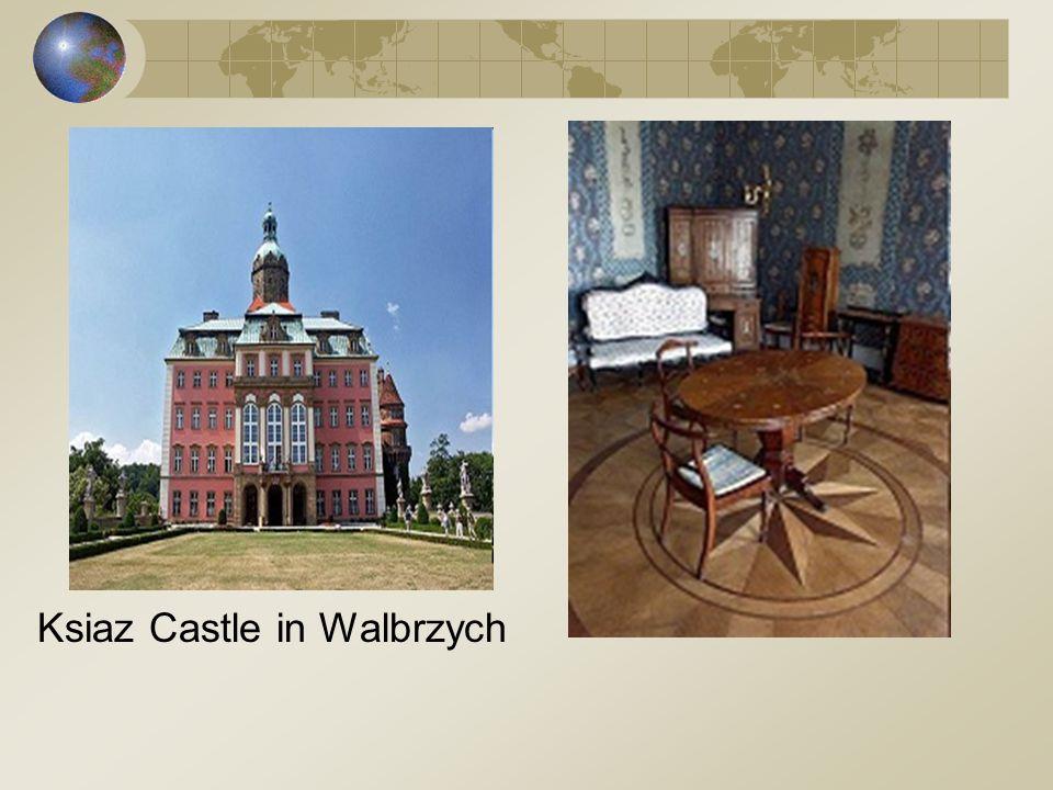 Ksiaz Castle in Walbrzych