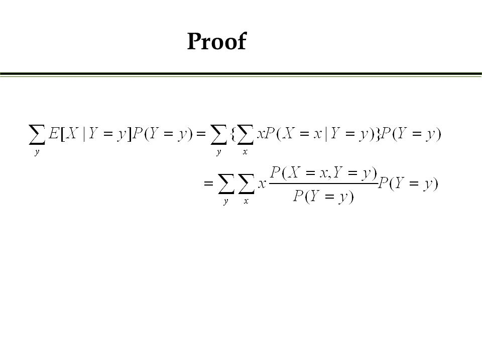 Example 3: (Thinning of a Poisson) Suppose X is a