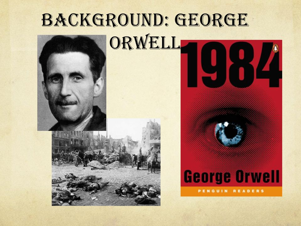 Background: George Orwell
