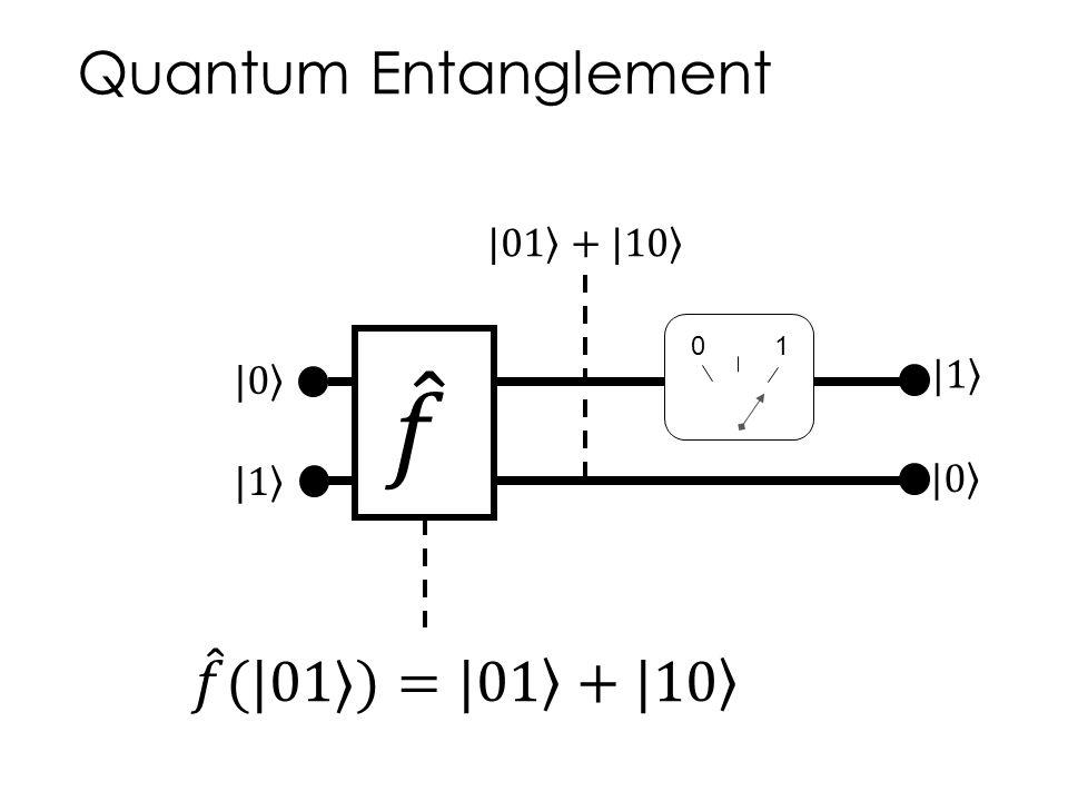 Quantum Entanglement 01