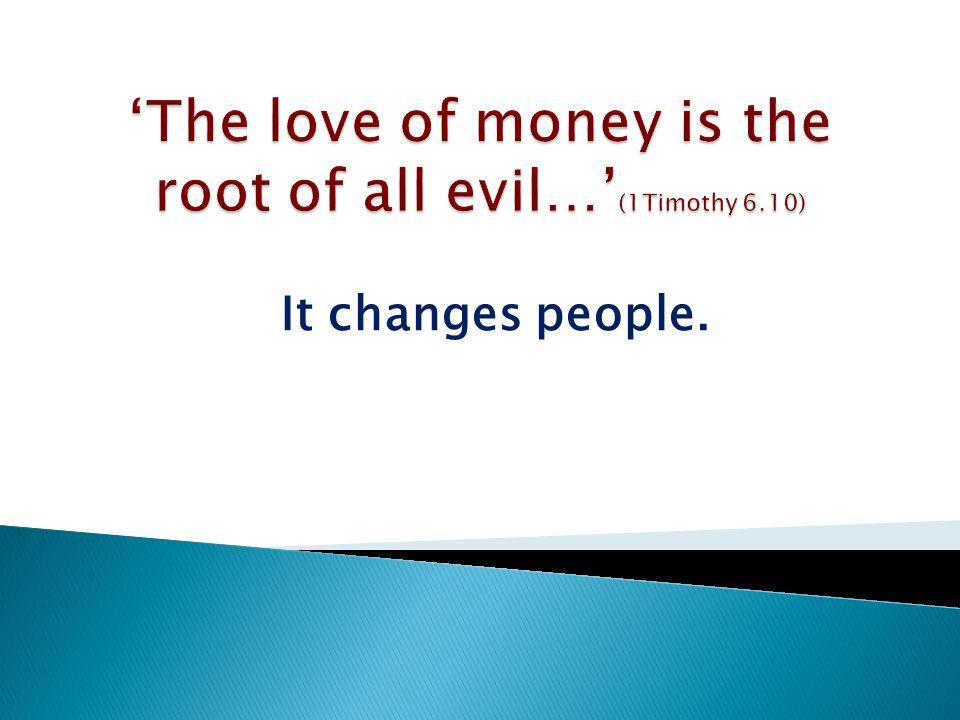 Greed, Usury, Covetousness