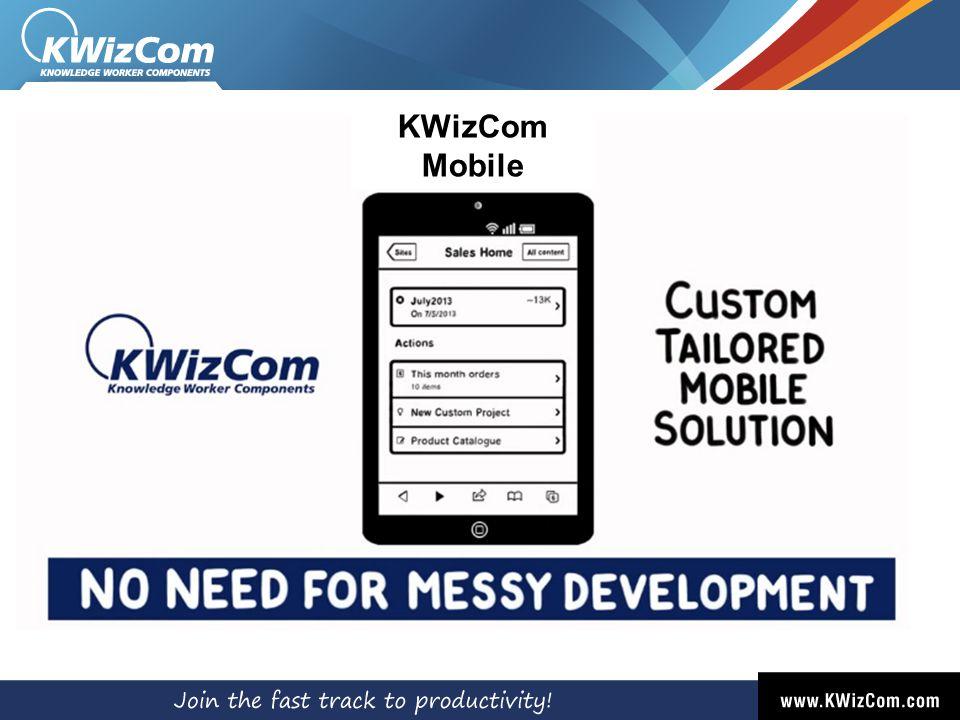 KWizCom Mobile