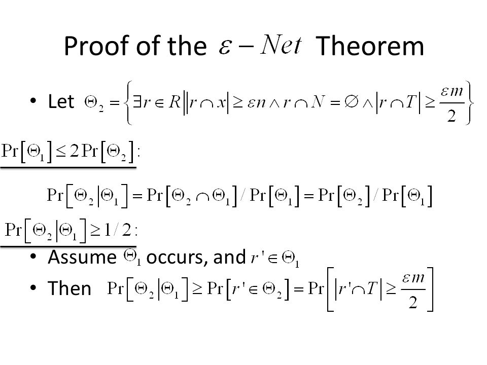 Let Assume occurs, and Then Proof of the Theorem