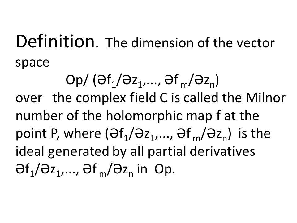 Definition.
