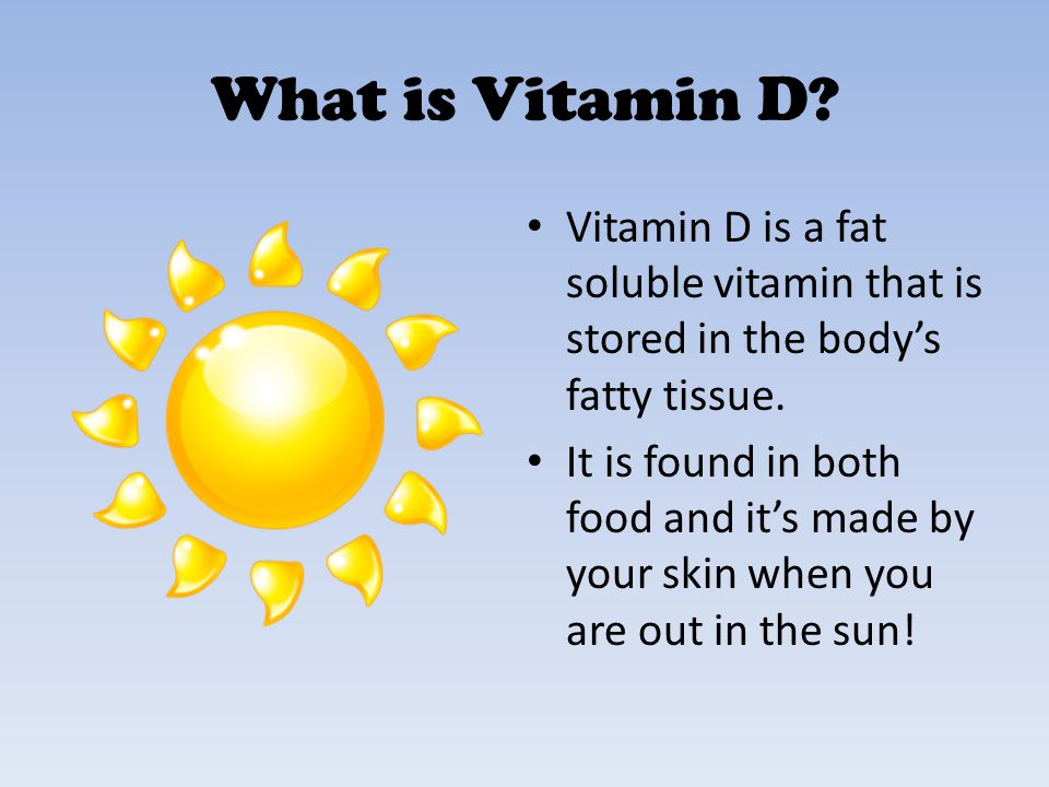 What Foods Contain Vitamin D.