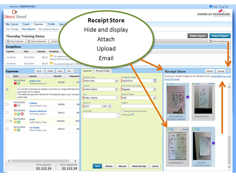 Concur Expense Reporting http://help.woodmark.com/Concur sdavis@woodmark.com vdill@woodmark.comhttp://help.woodmark.com/Concursdavis@woodmark.comvdill@woodmark.com Concur Online is easy.