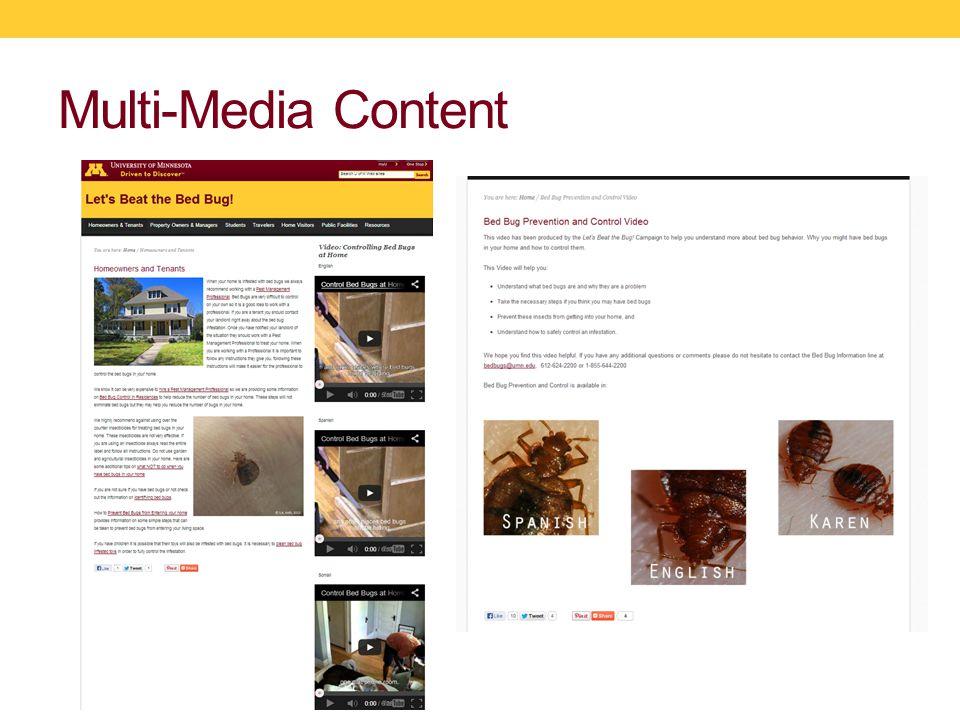 Multi-Media Content
