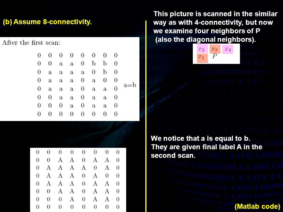 3.(Gonzalez & Woods 2007, Ex. 2.15) Consider the image segment shown.