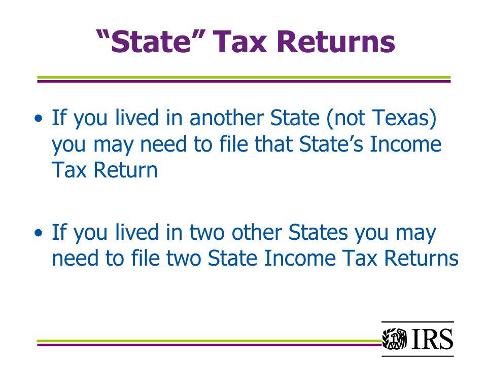 Where do I send non-resident income tax returns.