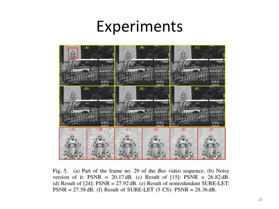 Experiments 18