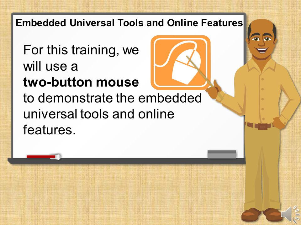 Embedded Universal Tools and Online Features 10