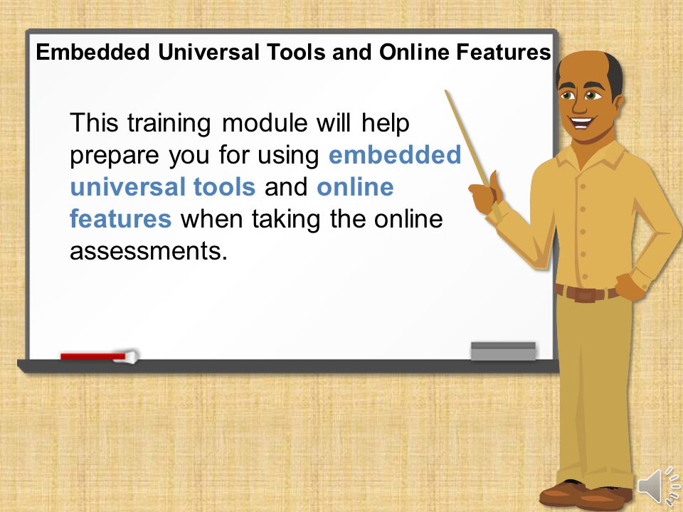 Embedded Universal Tools and Online Features 4
