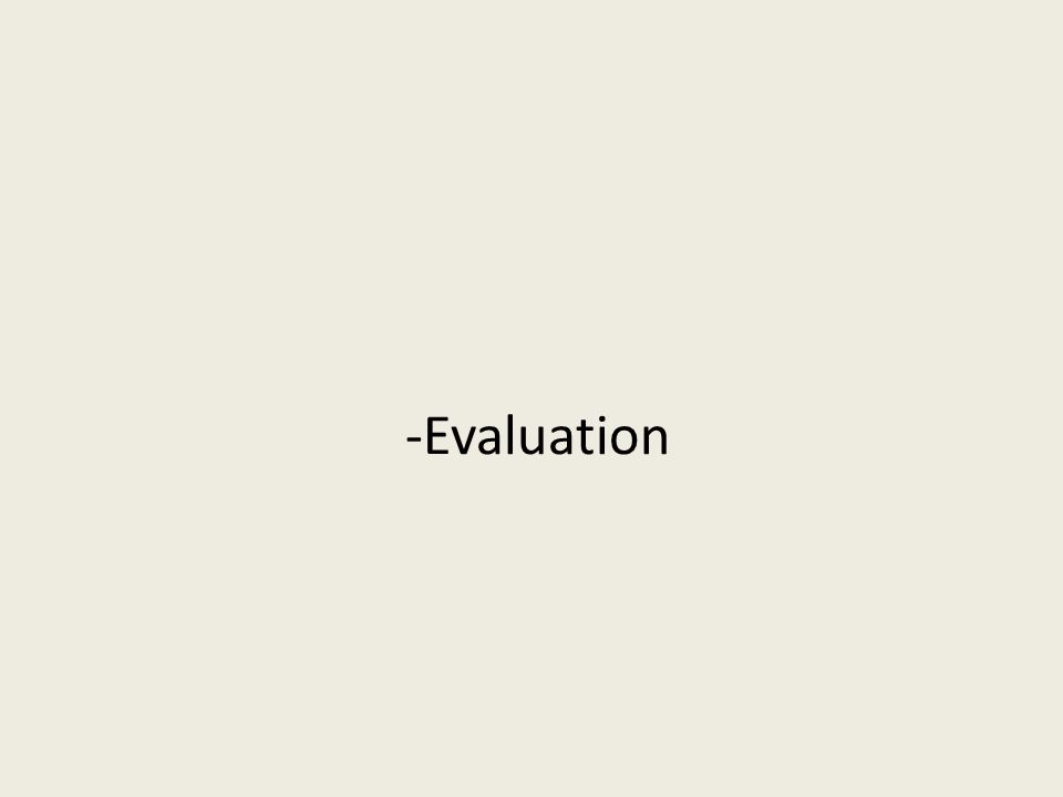-Evaluation