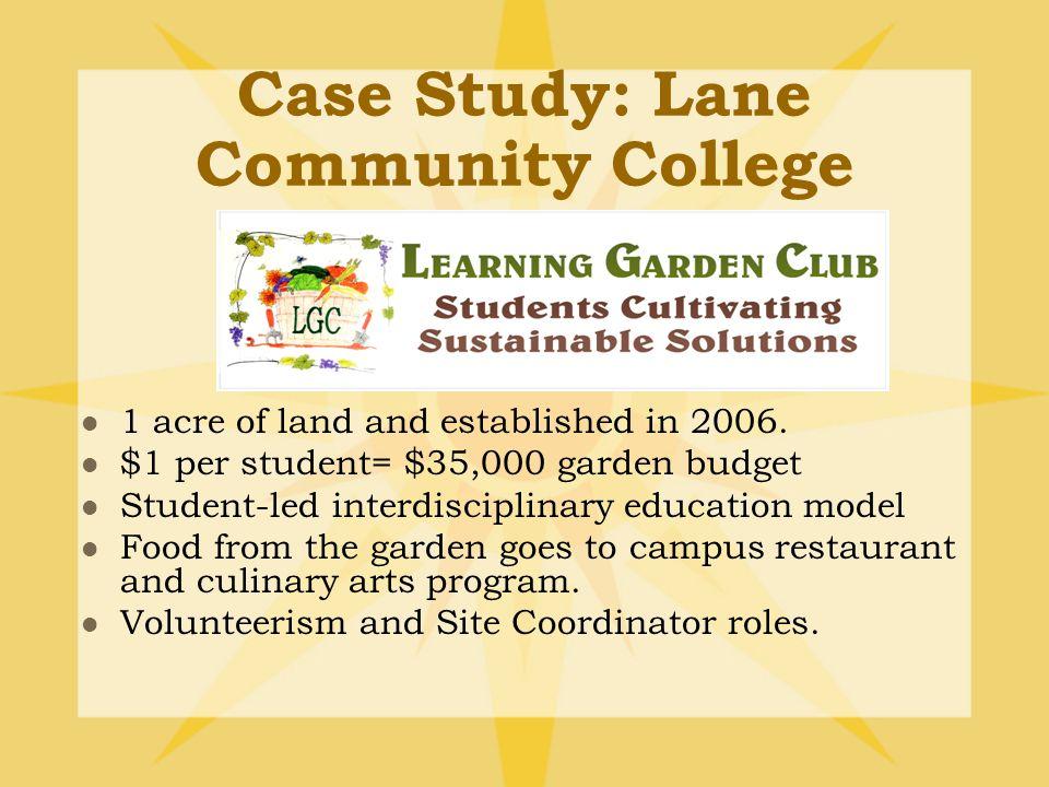 Case Study: University of Washington Farm Est. 2004 on a third of an acre.