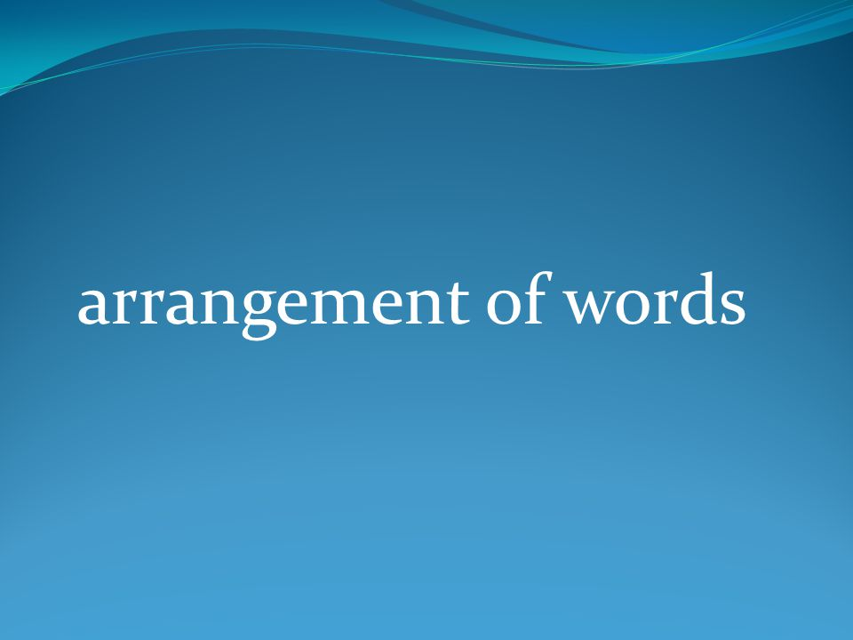 hortative sentence