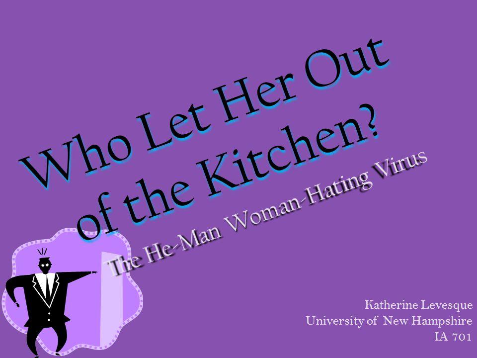 Katherine Levesque University of New Hampshire IA 701