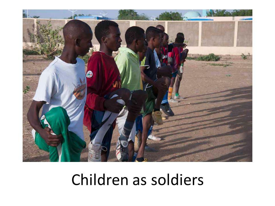 Children as soldiers