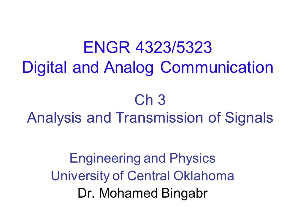 Chapter Outline Aperiodic Signal Representation by Fourier Integral Fourier Transform of Useful Functions Properties of Fourier Transform Signal Transmission Through LTIC Systems Ideal and Practical Filters Signal Distortion over a Communication Channel Signal Energy and Energy Spectral Density Signal Power and Power Spectral Density