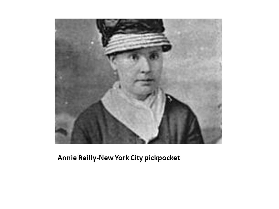 Annie Reilly-New York City pickpocket