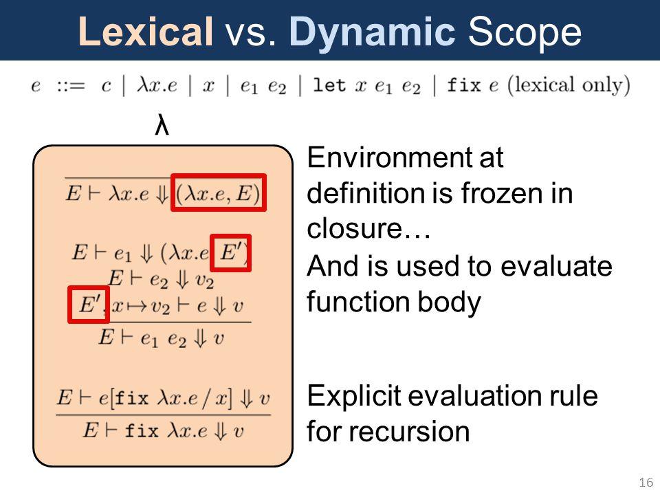 Lexical vs.