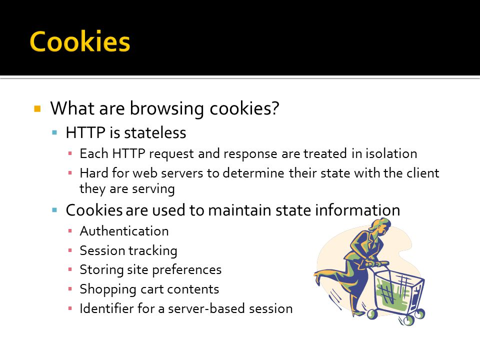  What are browsing cookies.