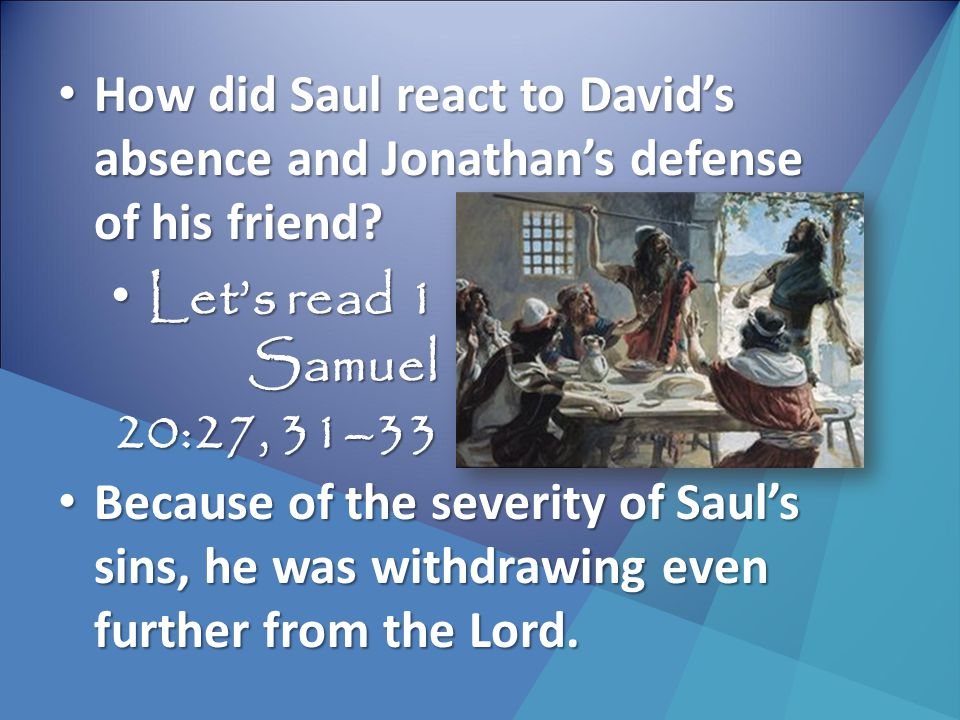 How was Jonathan to let David know if it was safe to come back to Saul's court.