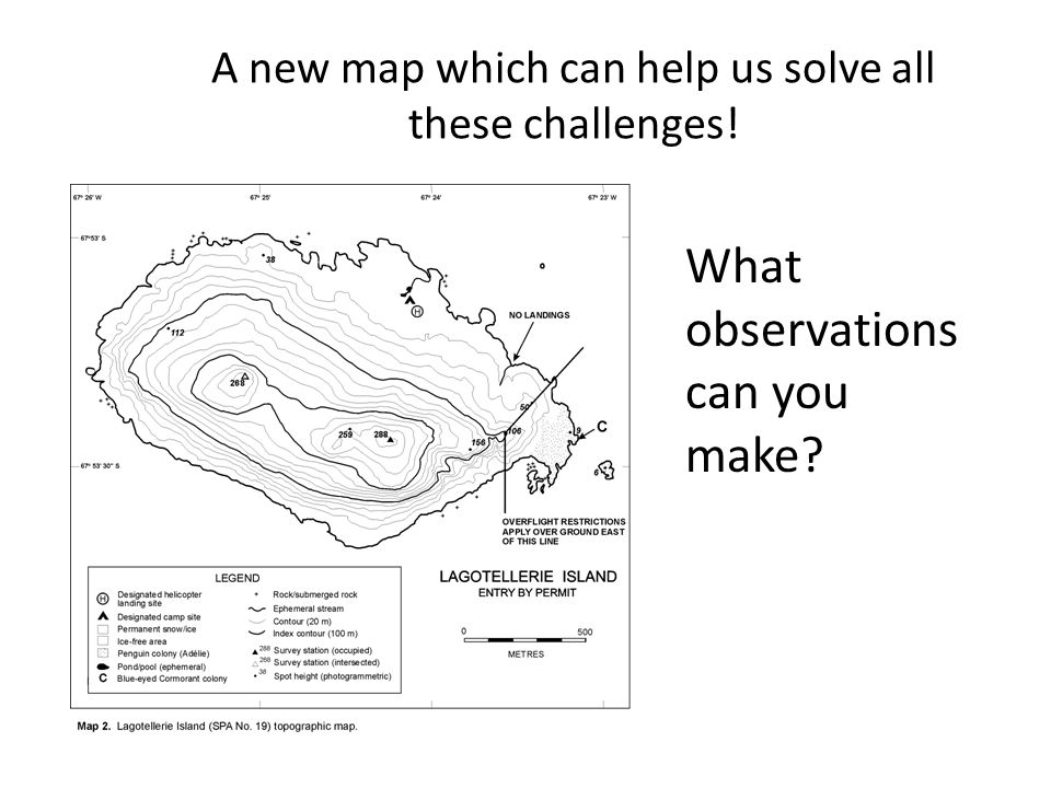 A new map which can help us solve all these challenges! What observations can you make