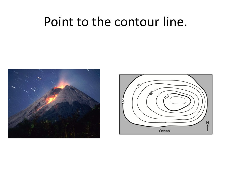 How many contour lines are there in this picture?